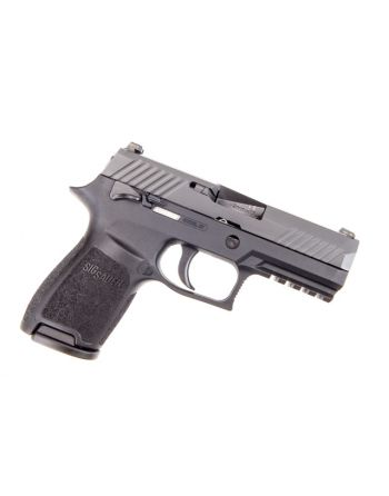 Sig Sauer P320 Compact 9mm 3.9in Black 15RD Pistol W/ Night Sights and Manual Safety