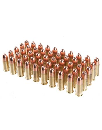 Rainier Munitions 9mm 147gr FMJ Competition Subsonic 50 Rd Box