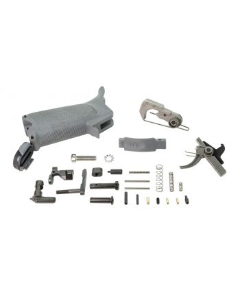 BCM Enhanced Lower Parts Kit AR15-Wolf Gray