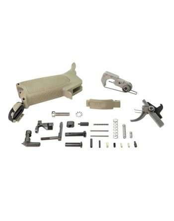 BCM Enhanced Lower Parts Kit AR15-FDE