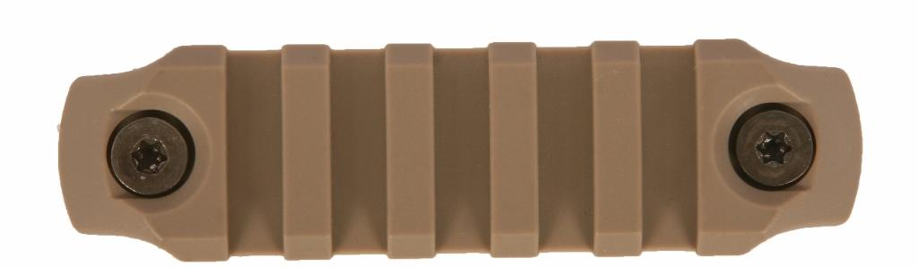 BCM GUNFIGHTER KeyMod Nylon Rail - Flat Dark Earth