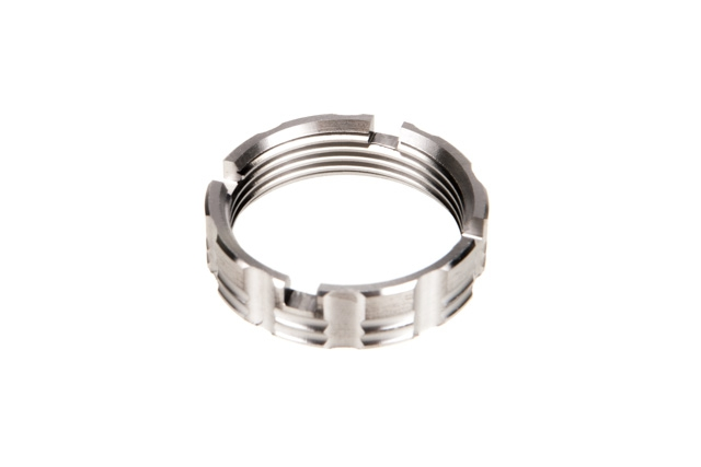 Ascend Armory Castle Nut – Titanium