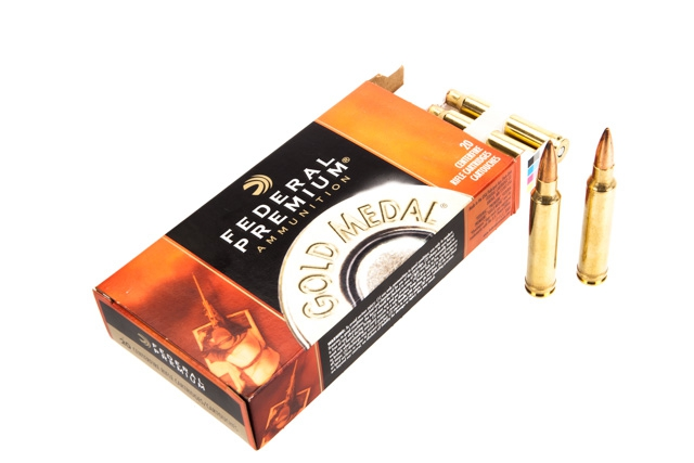Federal FGMM Ammo 300 Winchester Magnum 190gr SMK 20 rounds thumbnail