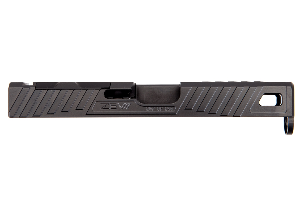 Zev Technologies Z19 Raven DLC Stripped Slide with RMR Cover Plate