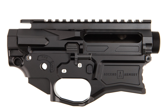 Ascend Armory AR-15 Matched Billet Receiver Set -7075