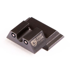 Night Fision Smith & Wesson M&P, M&P M2.0, SD9 VE, SD40 VE Perfect Dot Tritium Night Sight Set -