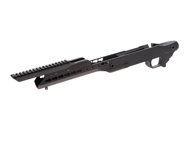 Rainier Arms Orias Chassis WITH ACCESSORY RAIL Mount -Type T2