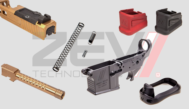 Zev Technologies manufacturer of replacement Glock parts