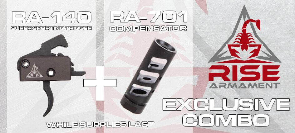 Rise Armament super sporting trigger + compensator